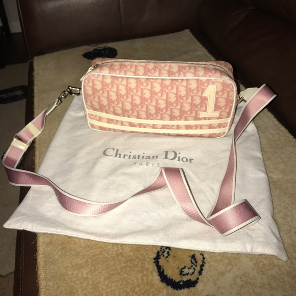 91 off Dior Bags Authentic Christian Crossbody Purse Poshmark